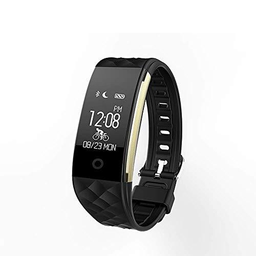 Watch Fitness-Tracker, IP67 wasserdichter Aktivitäts-Tracker mit Schrittzähler-Pedometer-Uhr und Schlaf-Monitor-Kalorienzähler-Uhr, ultradünnes Bluetooth-Armband für Frauen, Frauen und Männer Watch
