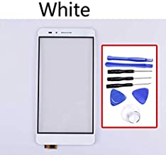 KINGCOM-Mobile Phone Touch Panel - Touchscreen For Huawei Honor 5X Touch Screen Panel Sensor Digitizer For GR5 KII-L21 L22 L23 L03 L05 Display Glass Lens (White-With tool)