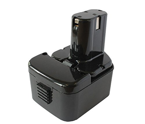 Replacement Battery for Hitachi EB 1214S - Rechargeable Battery for Hitachi Power Tools (2000mAh, 12V, NICD)