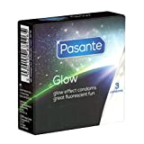 Pasante Glow - 3 condones brillantes, glow in the dark