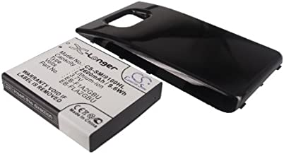 Replacement Battery for Samsung Galaxy S II, GT-I9100 (2600mAh)
