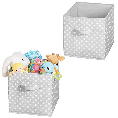 2-in-1 Bo/îte de Rangement Jouets de anim/é Cube Toile Organisateur Pliable pour Enfants ch/âteau de Princesse Coffre 38x25x25 cm Il Devient Un Tapis de Jeu 75x38 cm.