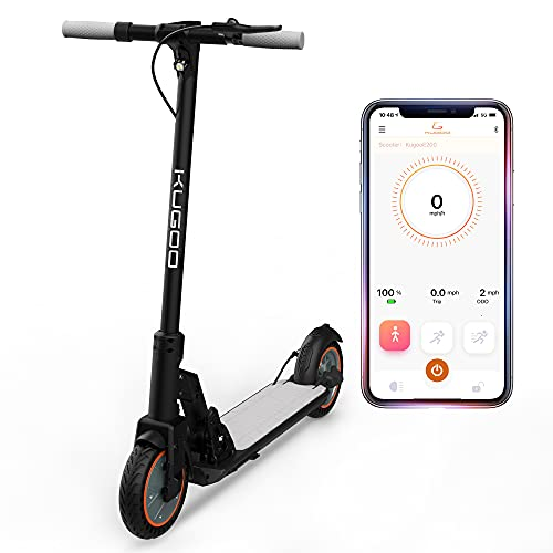 KUGOO Electric Scooter, Electric Scooter for Adults, 8.5 Inches Honeycomb Tire Scooter,...