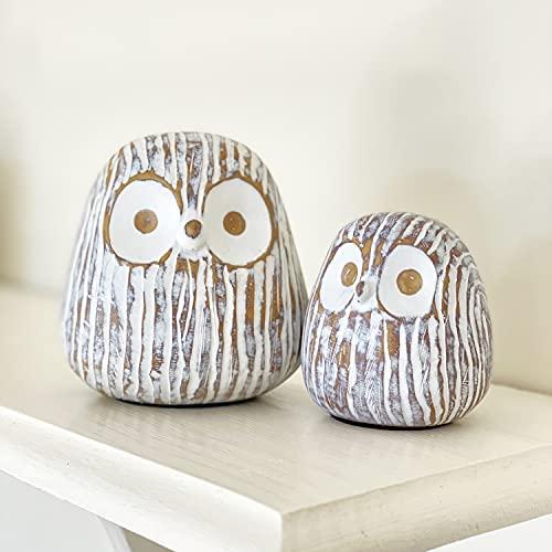 Chubby Owl Decor Set