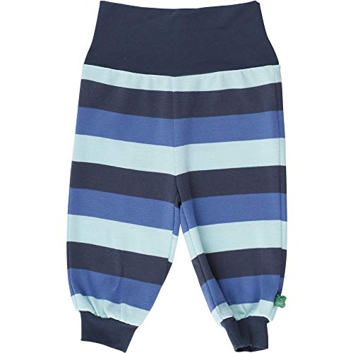 Fred'S World By Green Cotton Multi Stripe Pants Pantalon, Multicolore (Blue 019403901), 74 Bébé garçon