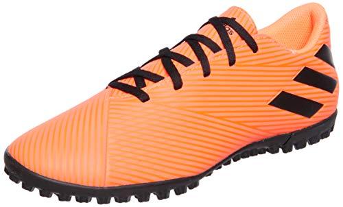 adidas Nemeziz 19.4 TF, Zapatillas de fútbol Hombre, CORSEN/NEGBÁS/Rojsol, 42 EU