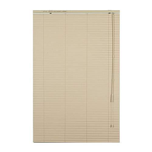 CHAXIA Jaloezieën Bamboe blind blinds venster vouwgordijnen plafond licht S-type PVC keuken badkamer waterdicht anti-roest, meerdere maten kan worden aangepast