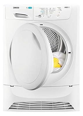 Zanussi ZDP7207PZ Freestanding Condenser Tumble Dryer, 7kg Load, White