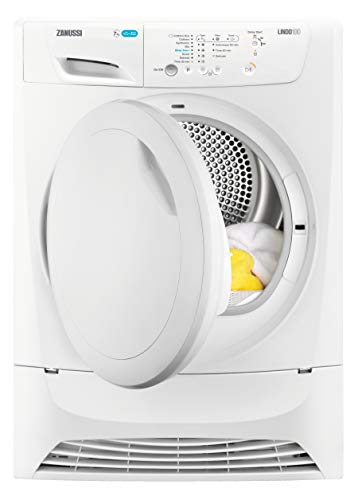 Zanussi ZDP7207PZ Freestanding Condenser Tumble Dryer, 7kg Load, White