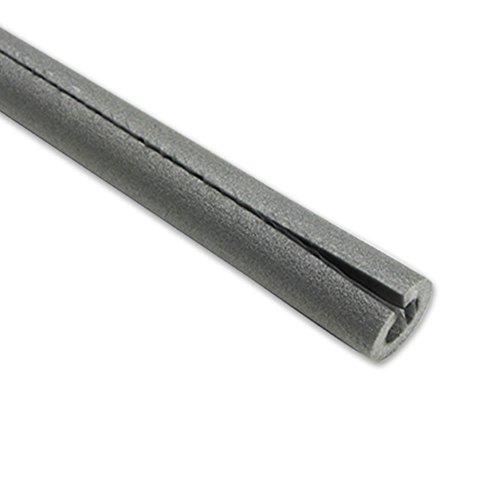 2m PE-Rohrisolierung geschlitzt DN 40-42mm - Isolierstärke 9mm