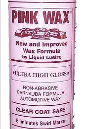 2 Bottles- Car Wax – Streak Free Car Polish – Easy to Apply Car Care Product – Ultra High Gloss for Automotive Detailing – Car Cleaning Product by Pink Wax for a Showroom Shine
