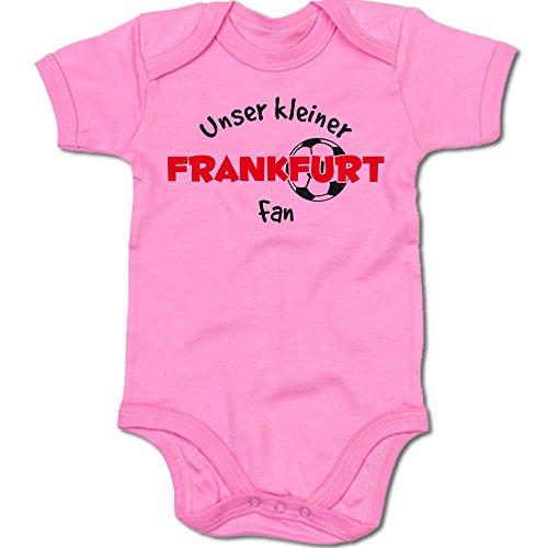 G-graphics Unser Kleiner Frankfurt Fan Baby-Body Suite Strampler 250.0485 (3-6 Monate, pink)