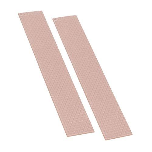Thermal Grizzly - Thermopad Minus Pad 8 - Silikon, Selbstklebendes, Wärmeleitendes Wärmeleitpad. Es leitet Wärme und Kühlt die Heizelemente des Computers oder der Konsole. (120 × 20 × 0,5 mm, 2 Stück)