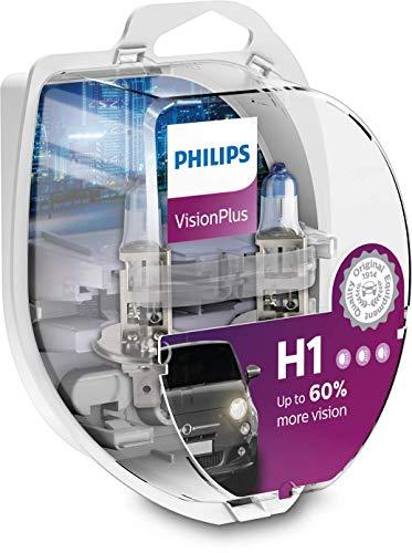 Philips 12258VPS2 Lot de 2 ampoules de phare VisionPlus + 60 % H1