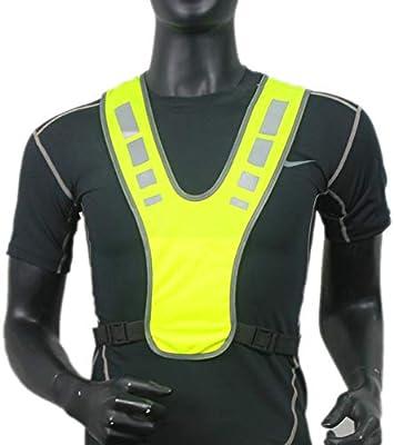 Balterday Reflective Running Gear Reflective Vest Adjustable Waisthigh Visibility Vest, Reflective Vest for Running or Cycling and Kids Running Dog Walking Safety Vest
