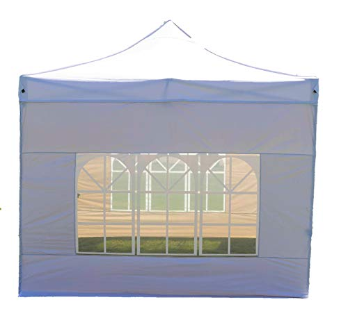 Wimba New Deluxe HEAVY DUTY 3x3m Popup Gazebo Marquee Canopy – ALL sides