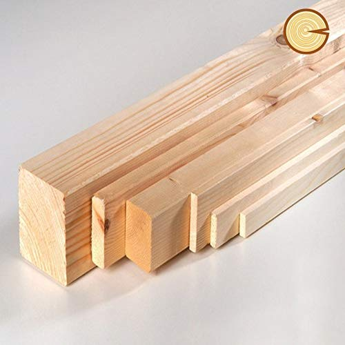 Travetti / Morali / Listelli piallati abete dim: 50 x 50 x 2000 mm ( 2 pz )