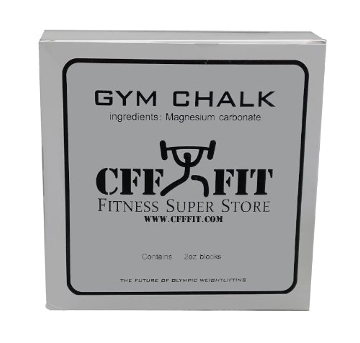 CFF Gym Chalk Block (2 oz) - Great for cross training, MMA, Boxing, Fitness Training, Strongman