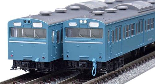 TOMIX Nゲージ 103系 高運転台非ATC車 スカイブルー 基本セット 92586 鉄道模型 電車 (メーカー初回受注限定生産)