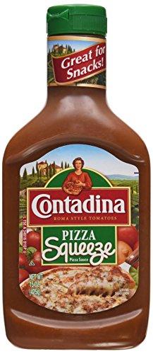 Contadina Pizza Squeeze Pizza Sauce, 15 oz, 3 pk