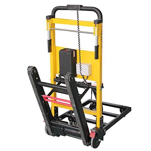 XH-Tool Nueva actualización Carro de Carro eléctrico para Subir escaleras Plegable - Batería de Litio portátil de 20 V - Motor Potente de 120 W - Rueda Universal - Capacidad de 200 kg