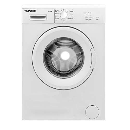 Telefunken W-01-51-W Waschmaschine (5 kg / 1000 U/Min) mit Mengenautomatik und Überlaufschutz