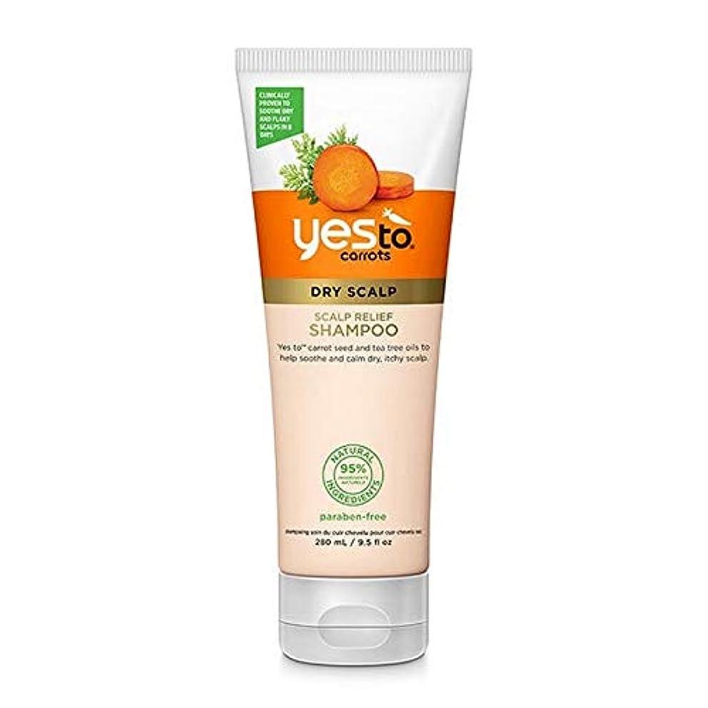 ジャンプする万一に備えてなに[YES TO! ] はいニンジン頭皮リリーフシャンプーへ - Yes To Carrots Scalp Relief Shampoo [並行輸入品]