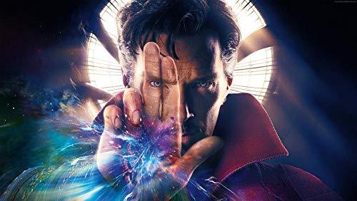 YJXL Puzzle Erwachsene 1000 Teile,The Movie Doctor Strange,3D Puzzle Puzzlespiel Herausforderndes Eltern-Kind-Spiele Dekompression der Erwachsenen Geschenk(75x50cm)