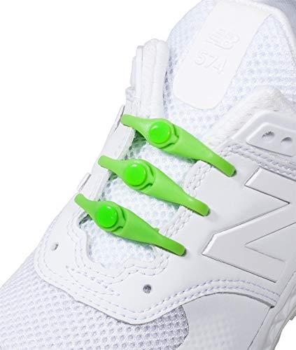 HICKIES Elastische Tie-Free Schuhbänder für Kinder (2.0 Neu) - Lime