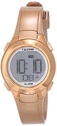 Calypso Unisex Digital Uhr mit Plastik Armband K5677/3