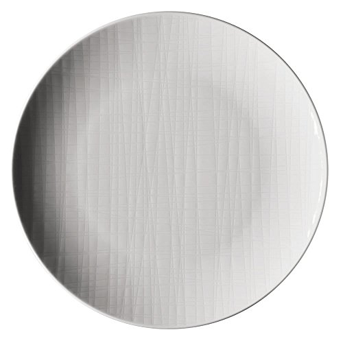 Rosenthal 11770-800001-10861 Assiette Plate 21 cm, Porcelaine, Blanc