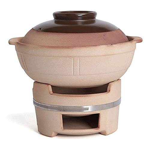 Review Of ZOUJUN Ceramics Old-fashioned Charcoal Hot Pot Process Outdoor Thickening Anti-scalding He...