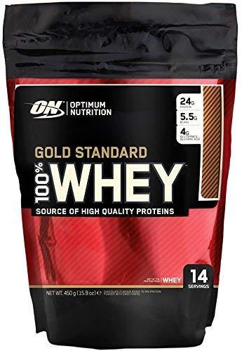 Optimum Nutrition 100% Whey Gold Standard, 1 lb Beutel (Double Rich Chocolate)
