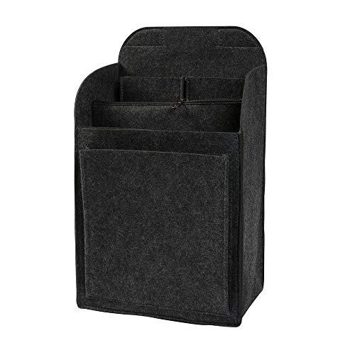 Rucksack Organizer aus Filz für Fjällräven Kanken 20l, dunkelgrau (Farbe/Größe wählbar) | Taschenorganizer für Rucksäcke mit Reißverschlusstasche