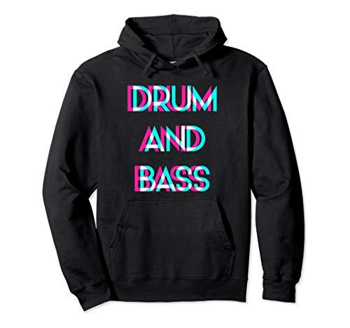 Drum And Bass Rave Festival EDM Raver DJ Musik Pullover Hoodie