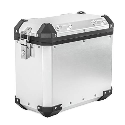 Alukoffer für Yamaha Tenere 700 / XJ 600 F Aluminium Seitenkoffer GX38 Silber