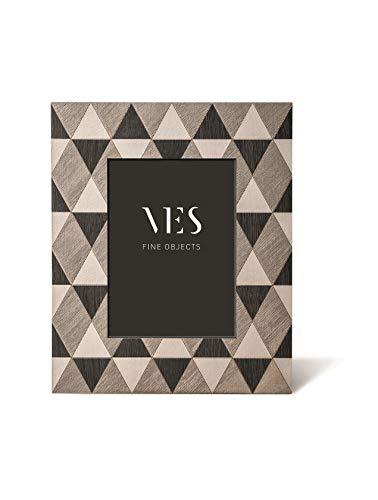 VES Fine Objects - Vichy Black Cornice per Foto 13x18 in Legno, da appoggio