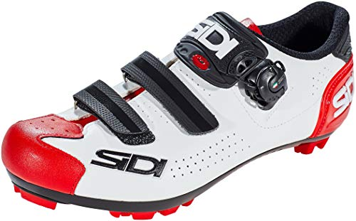 Sidi Gymnastikschuh, White Black Red, 43 EU