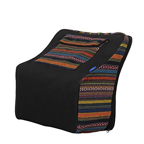 Muslady Akkordeon-Koffer Gig Bag National Style zum 48-120 Bass Akkordeons Musikalische Tastatur Zubehör IRIN IN-106