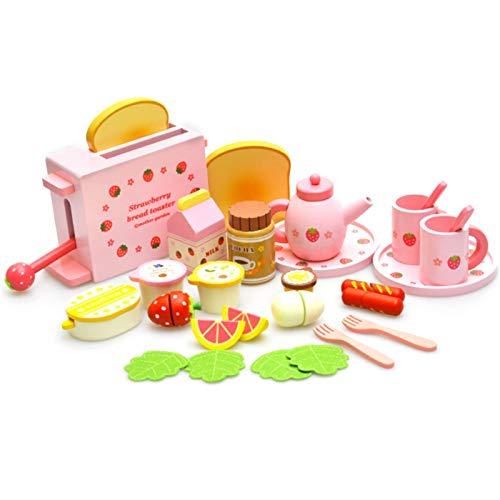 Swide Conjunto De Utensilios Electrodomésticos De Cocina Infantil Accesorios para Cocina De Juguete Incluye Tostadora, Batidora, Licuadora workable