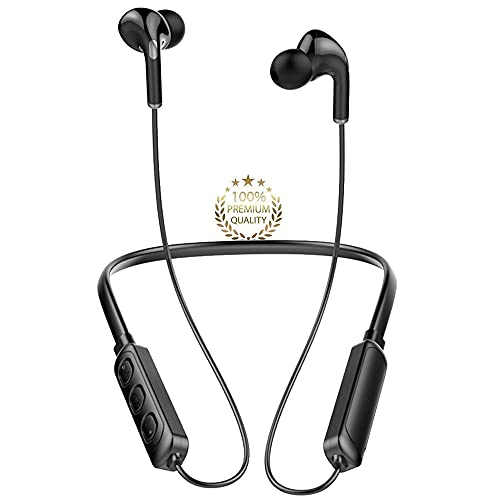 Auriculares Inalambricos Deportivos, Auriculares Bluetooth 5.1 con Micrófono, IP7 Impermeable,...