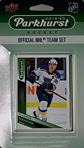 Sean Monahan and James Neal Plus 7 Others Vegas Golden Knights 2018 2019 Upper Deck PARKHURST Series Factory Sealed Team Set Including Johnny Gaudreau