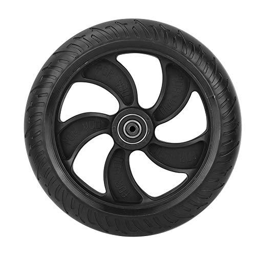Rueda Trasera de Scooter: plástico Duradero, sólido, Estable, absorción de Impactos, neumático de Rueda Trasera de Alta Velocidad para Scooter eléctrico de 8'