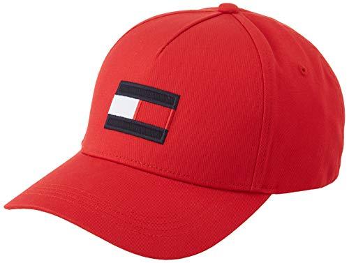 Tommy Hilfiger Big Flag cap Cappello, Rosso primario, Taglia Unica Uomo