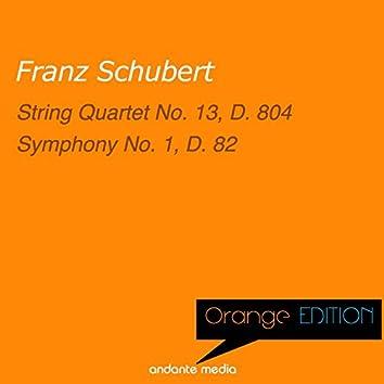 Orange Edition - Schubert: String Quartet No. 13, D. 804 & Symphony No. 1, D. 82