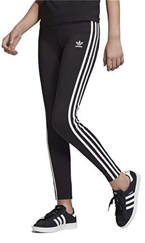 adidas ED7820, Pants Bambina, Black/White, 910A