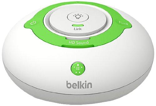 BelkinBABY 250 Écoute-Bébé Numérique DECT avec Veilleuse Changeant de Couleur Selon la Température Ambiante