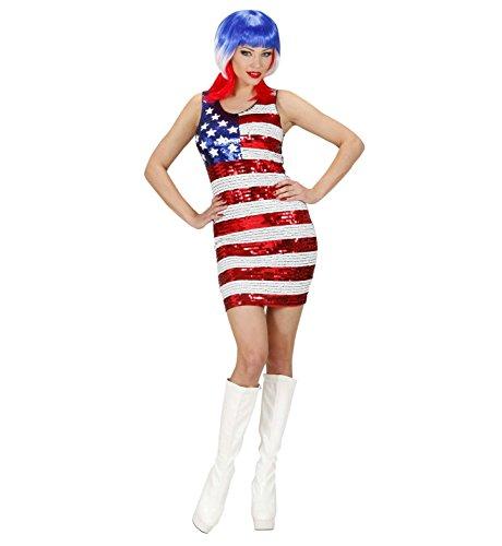 Widmann - Erwachsenenkleid Miss USA
