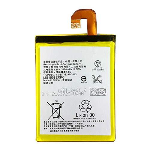 Ellenne Batería compatible con Sony Xperia Z3 D6603 D6653 LIS1558ERPC Alta capacidad 3100 mAh con kit de desmontaje incluido