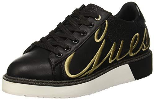 Guess Debora, Sneaker Donna, Nero Black, 36 EU